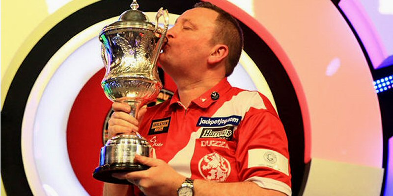 Glen Durrant Ashton 2018 BDO World Darts Champions