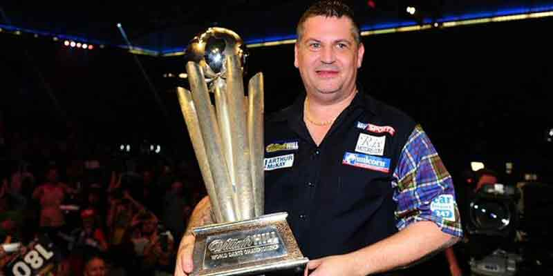 Gary Anderson 2016 World Darts Champion