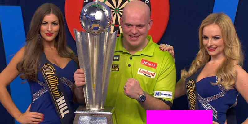 Michael van Gerwen 2017 PDC World Darts Champion